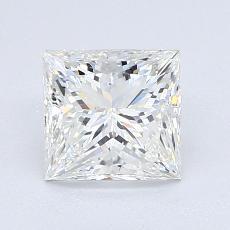 1,54-Carat Princess Diamond Very Good G VS1