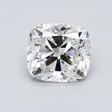1,01-Carat Cushion Diamond Very Good G VS1