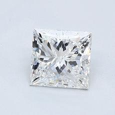 推薦鑽石 #4: 0.83  克拉公主方形鑽石