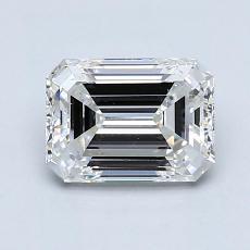 Recommended Stone #4: 1.40-Carat Emerald Cut Diamond