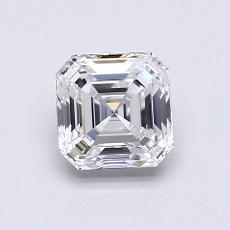 Recommended Stone #3: 1.01-Carat Asscher Cut Diamond