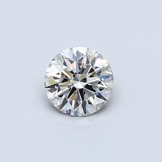 Recommended Stone #2: 0.38-Carat Round Cut Diamond