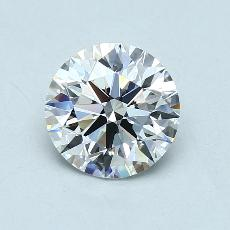 2.09-Carat Round Diamond Ideal G VVS1