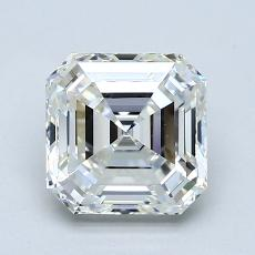 2,00-Carat Asscher Diamond Very Good H VS1