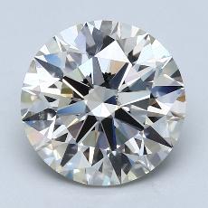 Pierre recommandée n°2: Diamant taille ronde 4,09 carat