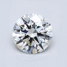 1.01-Carat Round Diamond Ideal H IF