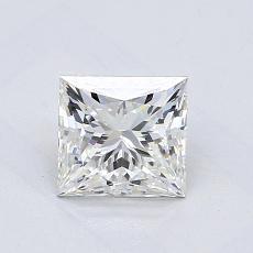 1.02-Carat Princess Diamond ASTOR H VVS2