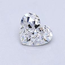 Recommended Stone #1: 1.03-Carat Heart Cut Diamond