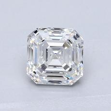 Pierre recommandée n°2: Diamant taille Asscher 0,90 carat