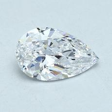 Recommended Stone #4: 1.70-Carat Pear Cut Diamond