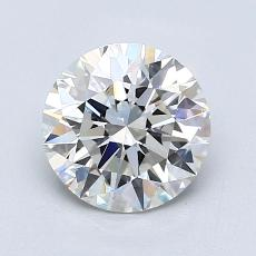 1.40-Carat Round Diamond Ideal H VVS2