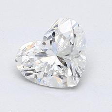Recommended Stone #4: 1.21-Carat Heart Cut Diamond
