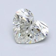 Recommended Stone #2: 1.04-Carat Heart Cut Diamond