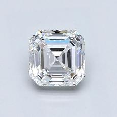 Recommended Stone #4: 0.91-Carat Asscher Cut Diamond