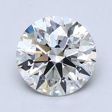 Recommended Stone #3: 1.75-Carat Round Cut