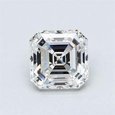 Recommended Stone #4: 1,06-Carat Asscher Cut Diamond