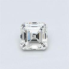 Target Stone: 0.51-Carat Asscher Cut Diamond