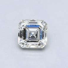 Recommended Stone #4: 0.54-Carat Asscher Cut Diamond