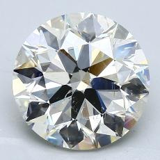 4.55-Carat Round Diamond Ideal K SI2