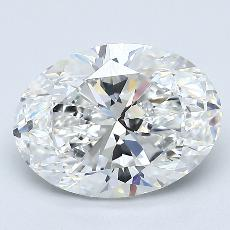 Recommended Stone #4: 2.20-Carat Oval Cut Diamond