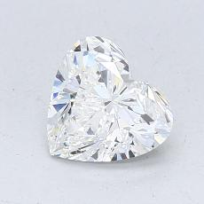 Recommended Stone #4: 1.01-Carat Heart Cut Diamond