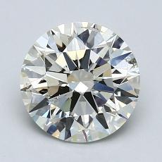 1.52 Carat 圆形 Diamond 理想 K SI2