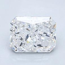 Pierre recommandée n°1: Diamant taille radiant 1,81 carats