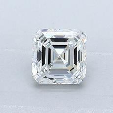 0,80-Carat Asscher Diamond Very Good G VVS1