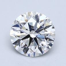 1.54-Carat Round Diamond Ideal F VS1