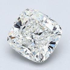 2.05-Carat Cushion Diamond Very Good H VS1