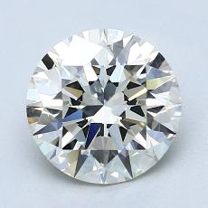 Recommended Stone #4: 2.01-Carat Round Cut Diamond