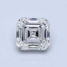 Pierre recommandée n°1: Diamant taille Asscher 1,01 carat