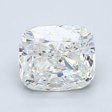 推荐宝石 1:1.74 克拉垫形钻石