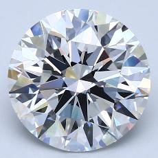 Recommended Stone #1: 4.03-Carat Round Cut Diamond
