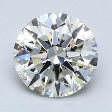 1.80-Carat Round Diamond Ideal J VS1