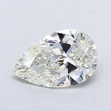推薦鑽石 #4: 0.78 克拉梨形鑽石