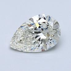 Recommended Stone #3: 1.01-Carat Pear Cut Diamond