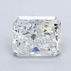Recommended Stone #3: 1.41-Carat Radiant Cut Diamond