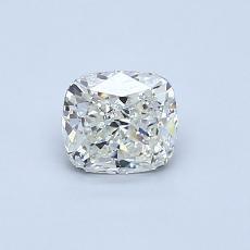 推荐宝石 4:0.50 克拉垫形钻石