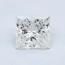 1,01-Carat Princess Diamond Very Good G VVS2