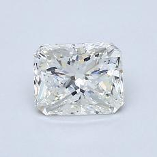 Recommended Stone #1: 0,90-Carat Radiant Cut Diamond