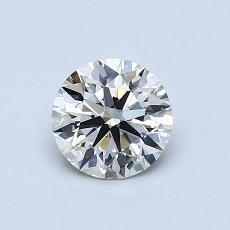 推薦鑽石 #2: 0.73 克拉圓形切割鑽石