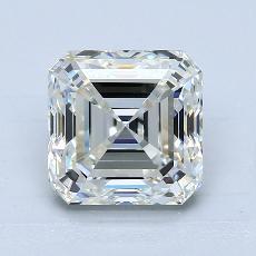 Recommended Stone #4: 3,01-Carat Asscher Cut Diamond