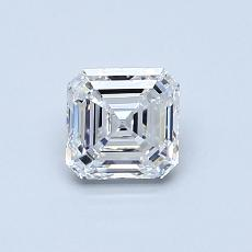 Recommended Stone #1: 0.71-Carat Asscher Cut Diamond