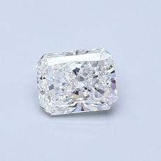 Pierre cible: Diamant Taille radiant de 0,51carat