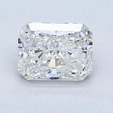 1.51-Carat Radiant Diamond Very Good G VS2