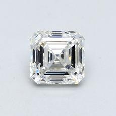 Piedra recomendada 4: Diamante de talla Asscher de 0.70 quilates