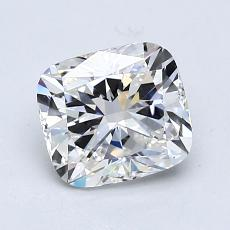 1.20-Carat Cushion Diamond Very Good G VVS1