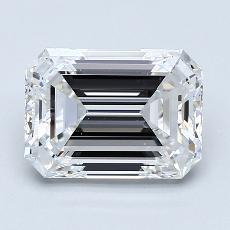Recommended Stone #1: 2.20-Carat Emerald Cut Diamond