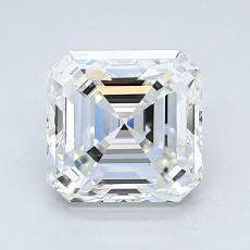 1,55-Carat Asscher Diamond Very Good H VVS2